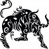 Tierkreis Zeichen Stier Abbildung