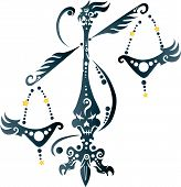zodiac sign Libra or the weighing scales