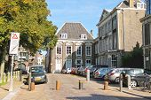 Cars On The Street On September 28, 2013 In Dordrecht, Netherlands