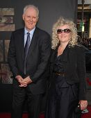 LOS ANGELES - JUL 28:  JOHN LITHGOW & MARY arrives to the