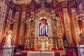 Basilica Jesus Mary Statues Church Of El Salvador Seville Andalusia Spain
