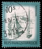 AUSTRIA - CIRCA 1973: A stamp printed in Austria from the