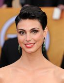 LOS ANGELES - JAN 27:  Morena Baccarin arrives to the SAG Awards 2013  on January 27, 2013 in Los Angeles, CA