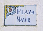 Plaza Mayor Tiles