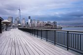 View from New Jersey to New York City