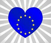 EU flag European union flag idea design
