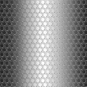 Seamless metallic background