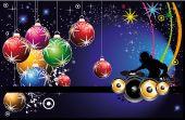 Flyer festa de Natal do DJ