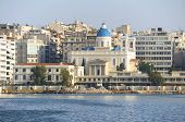 picture of piraeus  - View of the church of Agios Nikolaos in Piraeus - JPG
