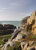 Coastal Scene On Guernsey,
