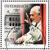 Marcel Prawy Stamp