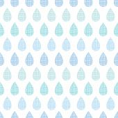 Abstract textile blue rain drops stripes seamless pattern background