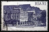 Postage Stamp South Africa 1986 Houses Of Parliament, Cape Town