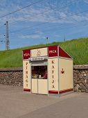 Food Stall In Riga, Latvia