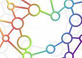Atom Intricacy Communicational Background