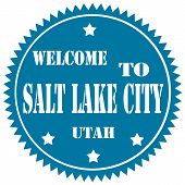 Welcome To Salt Lake City-label