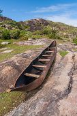 Traditional Fishing Canoe