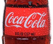 Coca-cola Bottle Closeup