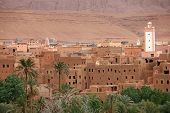 Town in Dades Valley, Morocco