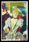 Painting By French Painter Henri De Toulouse-lautrec