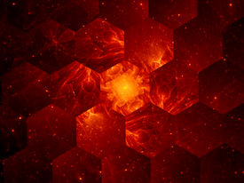 stock photo of nanotechnology  - Graphene grid abstract background nanotechnology - JPG
