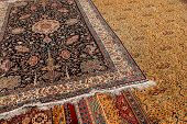 Finely Woven Silk Carpet