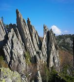 foto of ural mountains  - The mountains of the Southern Urals - JPG