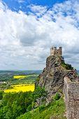 Trosky Castle, Bohemian Paradise Region, Czech Republic, Europe