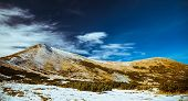 foto of saddening  - types of mountain landscapes in the Carpathian mountains - JPG
