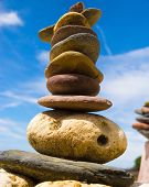 image of fulcrum  - Zen Pebbles Sustainable Growth  - JPG