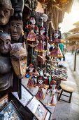 Puppets At Nepali Market