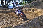 Motocross In Nava, Asturias, Spain..