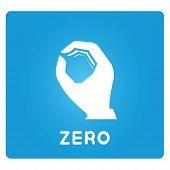 zero hand sign