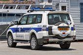 Cyprus  - Police car patrols