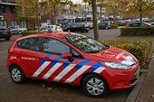 Dutch fire engine  - Ford Fiesta fire and rescue car