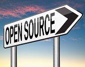 open source program software program or economy freeware internet data computer sharing