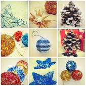a collage of different pictures of christmas ornaments and items