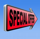 special offer exclusive bargain promotion low hot price best value and deal