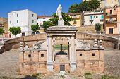 Fountain Cavallina of Genzano di Lucania.Italy.