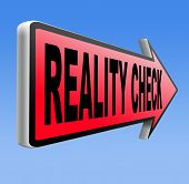 reality check back to basics up for real life events and realistic goals