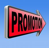 job promotion or product sales promotion