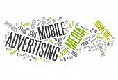 Word Cloud Mobile Advertising