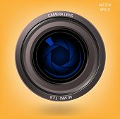 camera lens sign