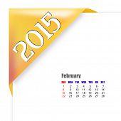 2015 February calendar