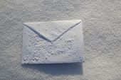 letter. For Christmas, New year holidays