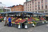 Stockholm - Fruit and vegetable market