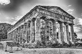 Greek Temple Of Segesta