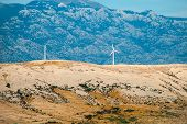 stock photo of wind-farm  - wind farm - JPG
