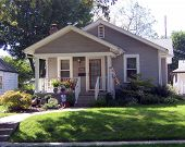 pic of residential home  - family home in urban neighborhood - JPG