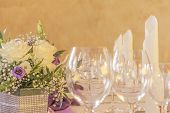 picture of business class  - High class arrangement for a wedding birthday or business meeting